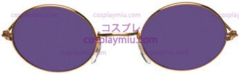 Gafas John Gold Purple