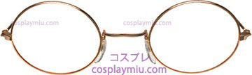 Gafas John Gold Clear