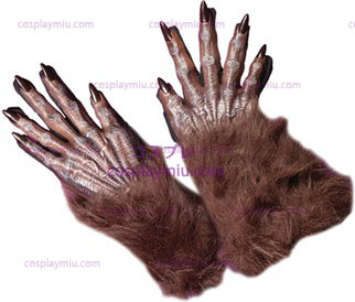 Gloves Werewolf Brown