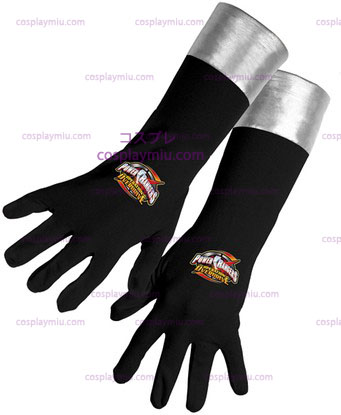 Power Ranger Negro Gloves Od