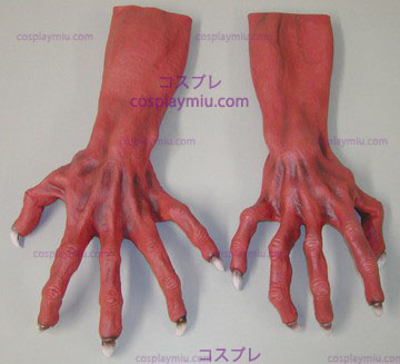 Ultimate Monster Hands Red