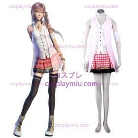 Final Fantasy XIII serah Mujer Trajes Cosplay