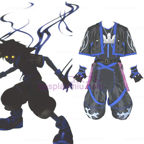 Kingdom Hearts 2 Anti Sora Men Trajes Cosplay
