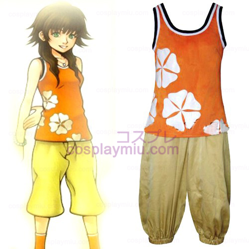 Kingdom Hearts 2 Olette Mujer Trajes Cosplay