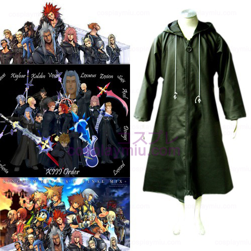 Kingdom Hearts 2 Organization Xiii 13 Trajes Cosplay
