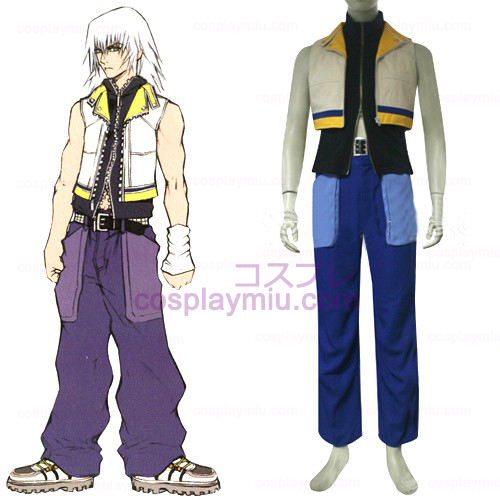 Kingdom Hearts 2 Riku Men's Trajes Cosplay