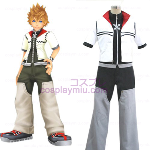 Kingdom Hearts 2 Roxas Men's Trajes Cosplay
