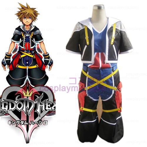 Kingdom Hearts 2 Sora Men's Trajes Cosplay
