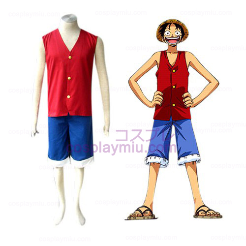 One Piece Luffy Trajes Cosplay