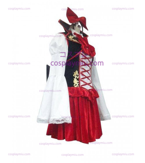 Vocaloid Kagamine Len Negro and Red Classic Trajes Cosplay