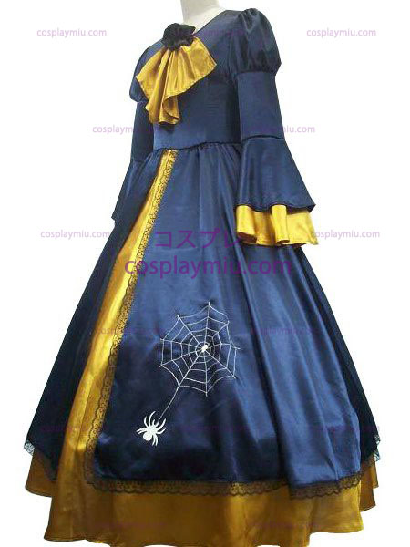 Vocaloid Kagamine Rin Blue And Yellow Trajes Cosplay Vestidos