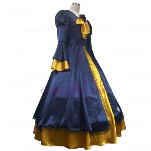 Vocaloid Kagamine Rin Blue And Yellow Trajes Cosplay