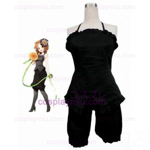 K-ON! Tayinaka Ritsu 65% Cotton 35% Polyester Trajes Cosplay