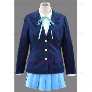 The Second K-ON! Takara High School Girl Uniform Trajes Cosplay