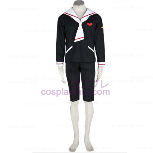 CardCaptor Sakura Boys Winter Trajes Cosplay