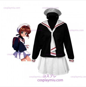 Cardcapture Sakura Tomoe Primary School Girls Trajes Cosplay