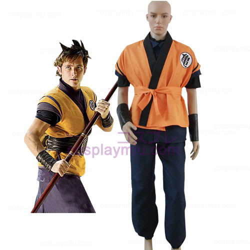Dragon Ball Movie Goku Trajes Cosplay