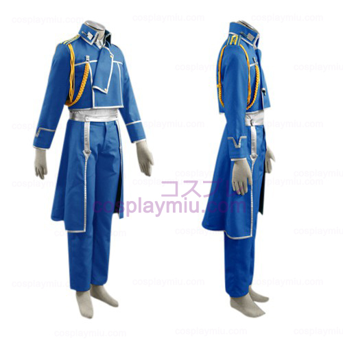 FullMetal Alchemist Roy Mustang Military Trajes Cosplay