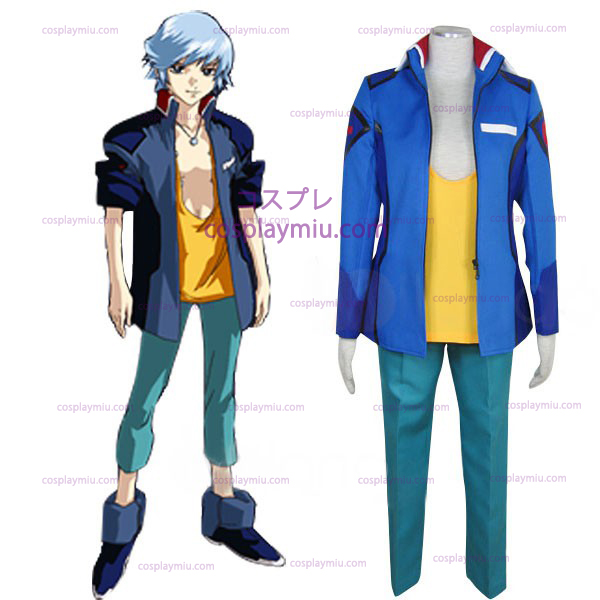 Gundam Seed Destiny Earth Alliance Male Uniform Trajes Cosplay