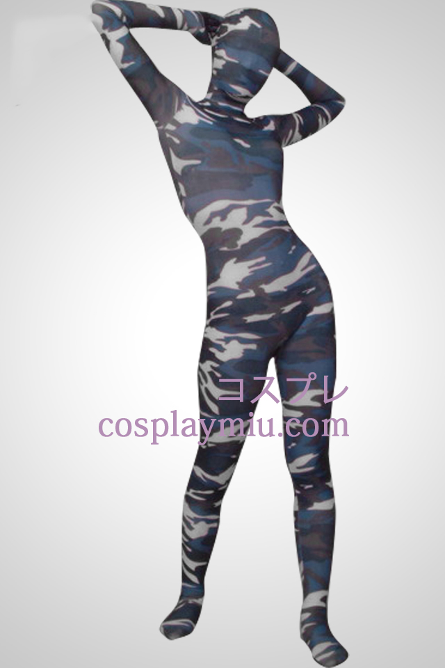 Camouflage Color Full Body Lycra Zentai Suit