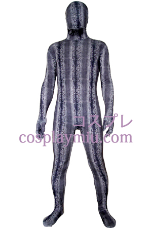 Purple Lycra Zentai Suit