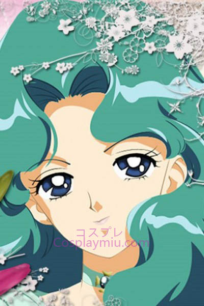 Sailor Moon Kaiou Michiru Sailor Neptune Cosplay peluca